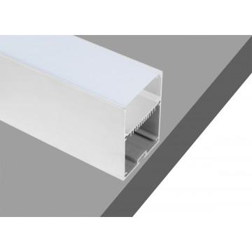 Накладной профиль для светодиодной ленты без рассеивателя Donolux DL18516RAL9003, белый