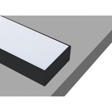 Профиль для светодиодной ленты Donolux DL18513Black