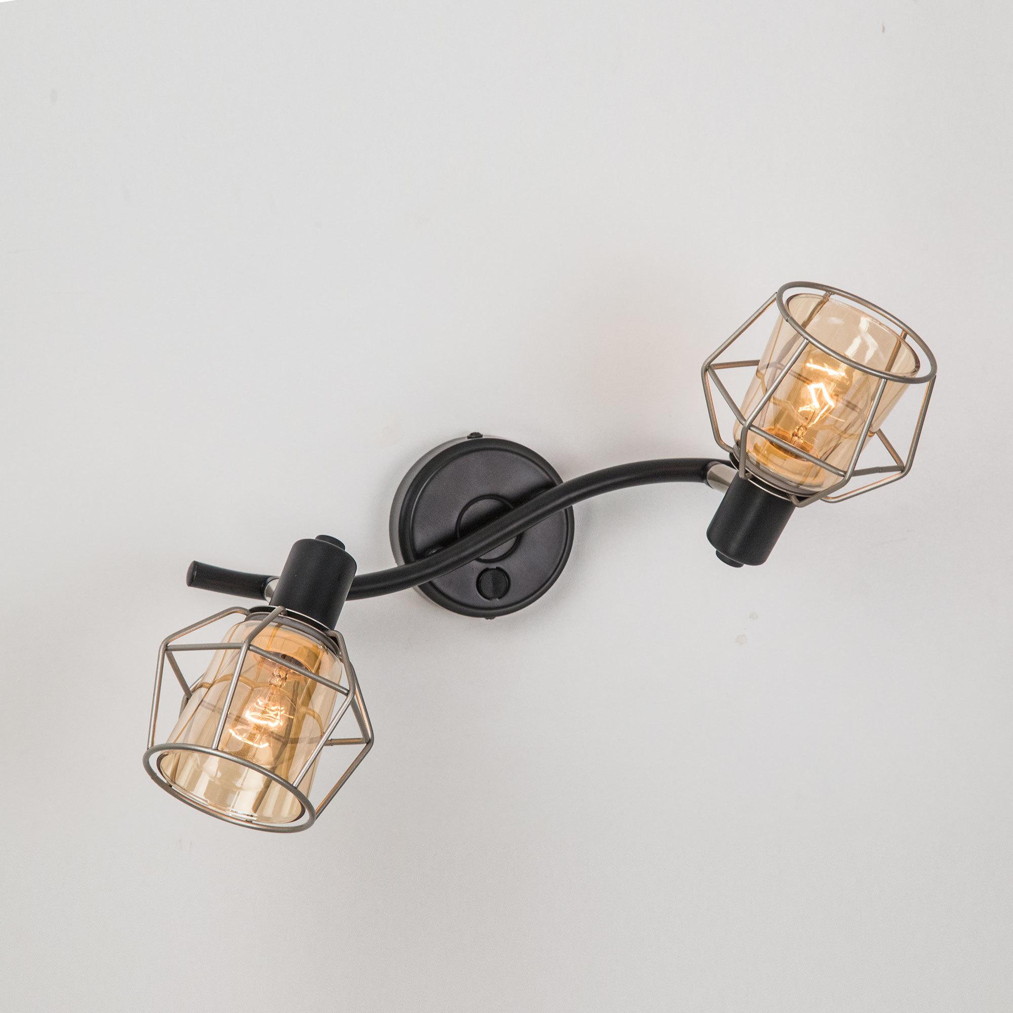 Потолочный светильник с регулировкой направления света Citilux Таверна CL542521, 2xE14x60W - фото 1