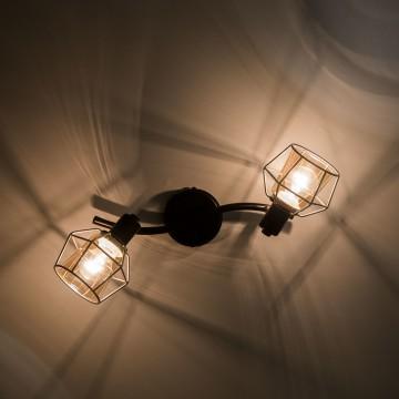 Потолочный светильник с регулировкой направления света Citilux Таверна CL542521, 2xE14x60W - миниатюра 4