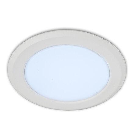 Светодиодная панель Citilux Кинто CLD5106N, LED 6W 4000K 450lm, белый, металл с пластиком