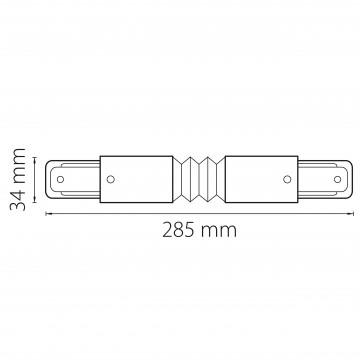 Схема с размерами Lightstar 502157