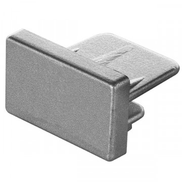 Концевая заглушка для шинопровода Lightstar Barra 502169, серый, пластик