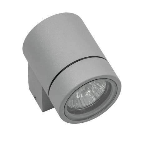 Настенный светильник Lightstar Paro 350609, IP65, 1xGU10x50W, серый, металл
