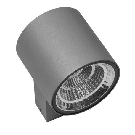 Настенный светодиодный светильник Lightstar Paro 361692, IP65, LED 16W 3000K 1270lm, серый, металл