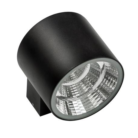 Настенный светодиодный светильник Lightstar Paro 370572, IP65, LED 20W 3000K 1590lm, черный, металл