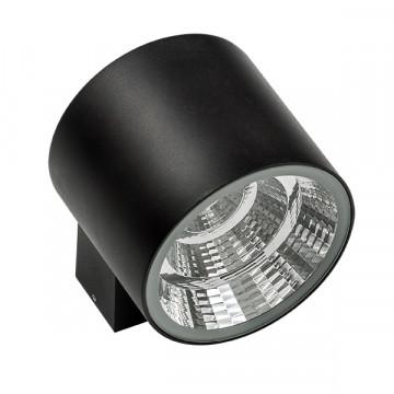 Настенный светодиодный светильник Lightstar Paro 370574, IP65, LED 20W 4000K 1590lm, черный, металл