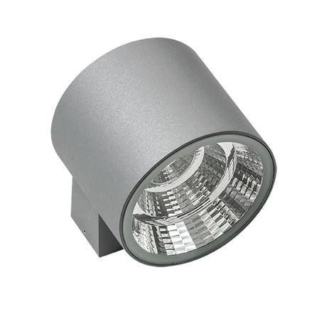 Настенный светодиодный светильник Lightstar Paro 370694, IP65, LED 20W 4000K 1590lm, серый, металл