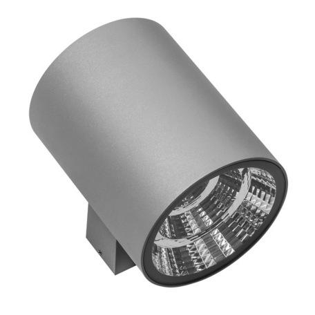 Настенный светодиодный светильник Lightstar Paro 371594, IP65, LED 30W 4000K 2350lm, серый, металл