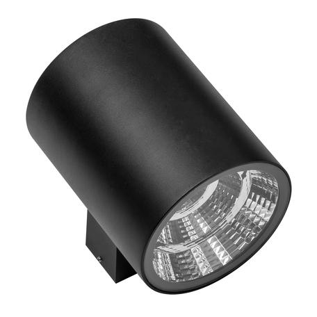 Настенный светодиодный светильник Lightstar Paro 371672, IP65, LED 30W 3000K 2350lm, черный, металл