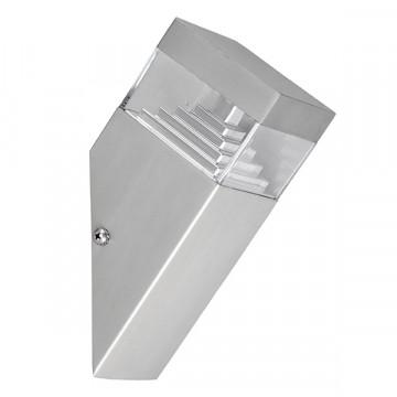 Настенный светодиодный светильник Lightstar Raggio 377605, IP55, LED 6W 4000K 300lm, алюминий, прозрачный, металл, пластик