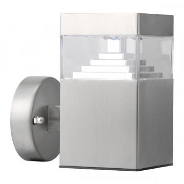 Настенный светодиодный светильник Lightstar Raggio 377615, IP55, LED 6W 4000K 300lm, алюминий, металл, металл с пластиком
