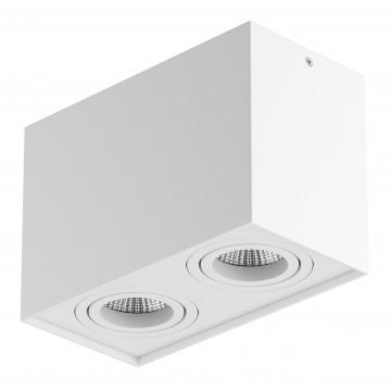 Потолочный светильник Lightstar Rettango 052086, 2xGU10x50W, белый, металл