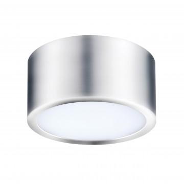 Потолочный светодиодный светильник Lightstar Zolla 211914, IP44, 3000K (теплый), белый, хром, металл, пластик