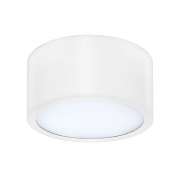 Потолочный светодиодный светильник Lightstar Zolla 211916, IP44, 3000K (теплый), белый, металл, пластик