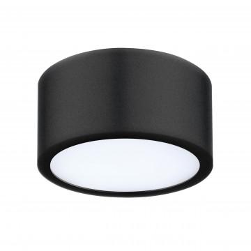 Потолочный светодиодный светильник Lightstar Zolla 211917, IP44, 3000K (теплый), белый, черный, металл, пластик