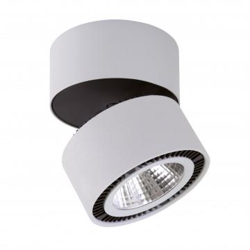Потолочный светодиодный светильник с регулировкой направления света Lightstar Forte Muro 214859, LED 40W 4000K 3400lm, серый, металл
