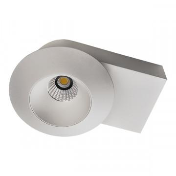 Потолочный светодиодный светильник Lightstar Orbe 051316, LED 15W 3000K 1240lm, белый, металл