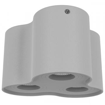 Потолочный светильник Lightstar Binoco 052039, 3xGU10x50W, серый, металл