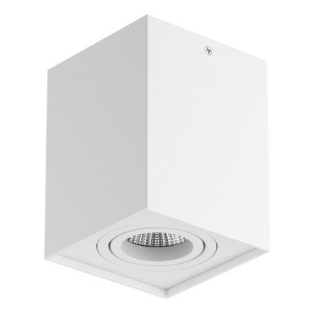 Потолочный светильник Lightstar Rettango 052076, 1xGU10x50W, белый, металл