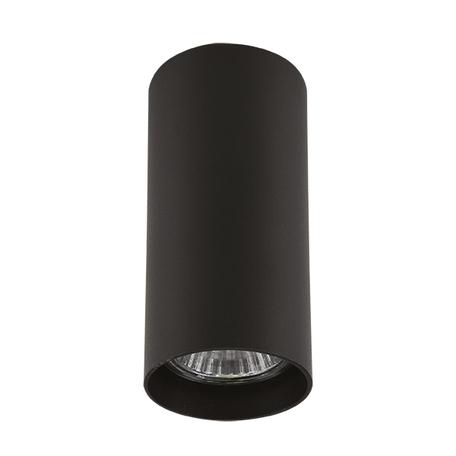 Потолочный светильник Lightstar Rullo 214487, 1xGU10x50W, черный, металл