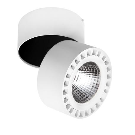 Светодиодный прожектор Lightstar Forte 381363, IP65, LED 35W 3000K 3500lm, белый, металл