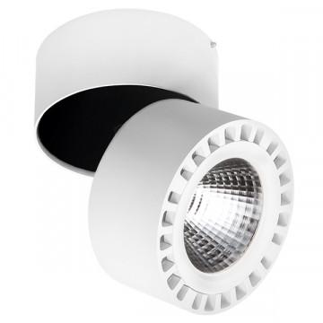 Светодиодный прожектор Lightstar Forte 381364, IP65, LED 35W 4000K 3500lm, белый, металл