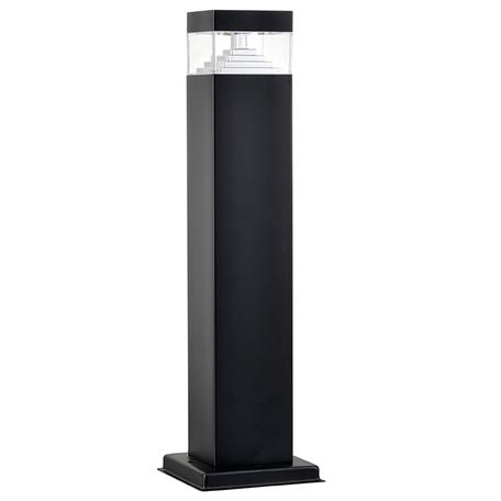 Садово-парковый светодиодный светильник Lightstar Raggio 377907, IP55, LED 6W 4000K 300lm, черный, прозрачный, металл, пластик
