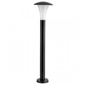 Садово-парковый светодиодный светильник Lightstar Arroto 378737, IP55, LED 6W 3000K 300lm, черный, белый, черно-белый, металл, стекло