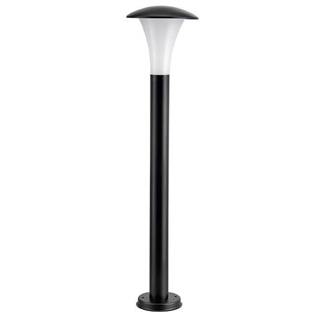 Садово-парковый светодиодный светильник Lightstar Arroto 378747, IP55, LED 6W 4000K 300lm, черный, белый, черно-белый, металл, стекло
