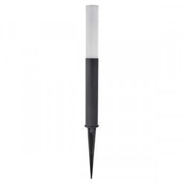 Садово-парковый светодиодный светильник Lightstar Dito 380937, IP55, LED 9W 3000K 120lm, черный, белый, металл, пластик