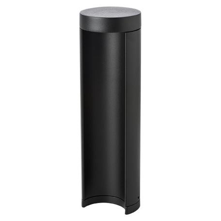 Садово-парковый светодиодный светильник Lightstar Paletto 382974, IP55, LED 8W 4000K 640lm, черный, металл