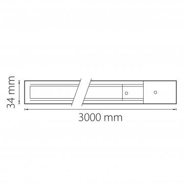 Схема с размерами Lightstar 502036