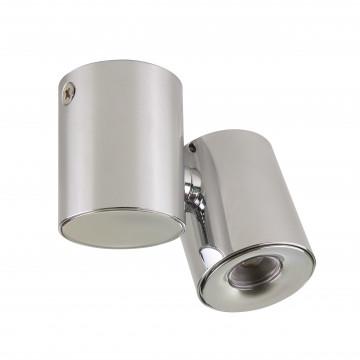 Потолочный светодиодный светильник с регулировкой направления света Lightstar Punto 051134, IP40, LED 3W 3000K 190lm, хром, металл