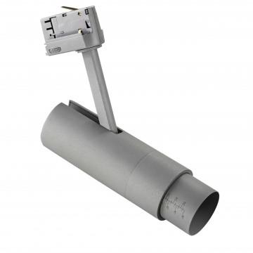 Светодиодный светильник для шинной системы Lightstar Fuoco 215439, LED 15W 3000K 950lm, серый, металл
