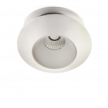 Встраиваемый светодиодный светильник с регулировкой направления света Lightstar Orbe 051306, LED 15W 3000K 1240lm, белый, металл