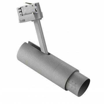 Светодиодный светильник для шинной системы Lightstar Fuoco 215449, 4000K (дневной), серый, металл, пластик