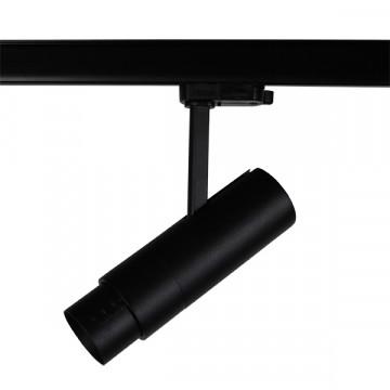 Светодиодный светильник с регулировкой направления света для шинной системы Lightstar Fuoco 215437, LED 15W 3000K 950lm, черный, металл