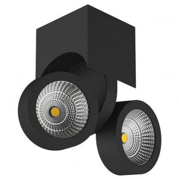 Потолочный светодиодный светильник с регулировкой направления света Lightstar Snodo 055374, LED 20W 4000K (дневной)