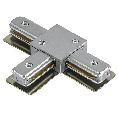 T-образный соединитель для шинопровода Lightstar Barra 502139, серый, пластик - миниатюра 1