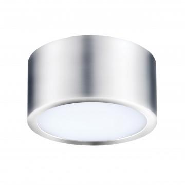 Потолочный светодиодный светильник Lightstar Zolla 211914, IP44, LED 10W 3000K 780lm, хром, металл