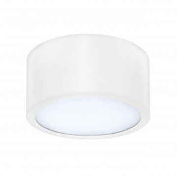 Потолочный светодиодный светильник Lightstar Zolla 211916, IP44, LED 10W 3000K 780lm, белый, металл