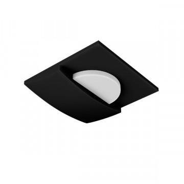 Встраиваемый настенный светодиодный светильник Lightstar Lumina 212147, 3000K (теплый), белый, черный, металл, пластик