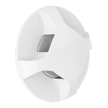 Встраиваемый настенный светодиодный светильник Lightstar Lumina 212364, LED 3W 4000K 180lm, белый, металл