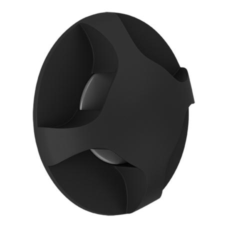 Встраиваемый настенный светодиодный светильник Lightstar Lumina 212374, 4000K (дневной), черный, металл, пластик