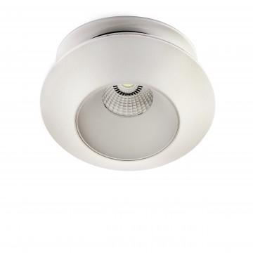 Встраиваемый светодиодный светильник с регулировкой направления света Lightstar Orbe 051306, 3000K (теплый), белый, металл