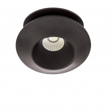 Встраиваемый светодиодный светильник с регулировкой направления света Lightstar Orbe 051307, 3000K (теплый), черный, металл