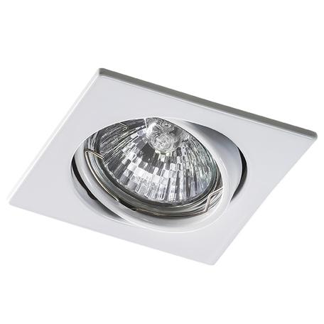 Встраиваемый светильник Lightstar Lega 16 011940, 1xGU5.3x50W, белый, металл