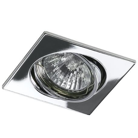 Встраиваемый светильник Lightstar Lega 16 011944, 1xGU5.3x50W, хром, металл