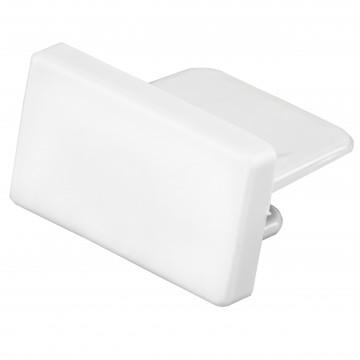 Концевая заглушка для шинопровода Lightstar Barra 502166, белый, пластик